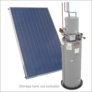 Traditional Drainback Solar Water Heater System