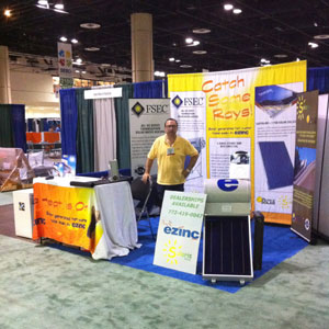 Solaris Energy at the 2010 Southeast Building Conference and Green Building Show - Orlando, FL