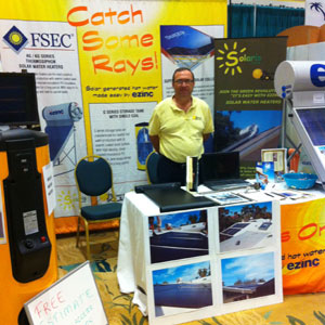 Solaris Energy at a 2010 Solar Exposition in Port St. Lucie, FL
