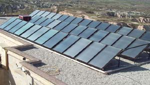 Active Solar Water Heating System: Collectors